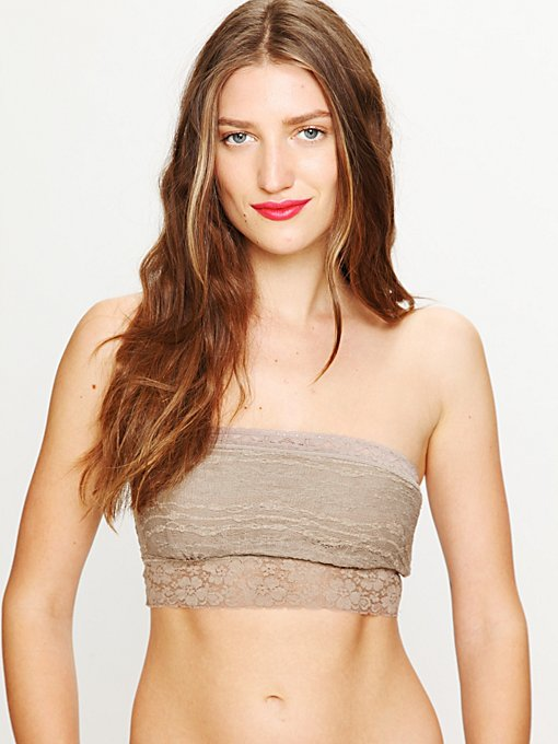 Lace Trim Bandeau
