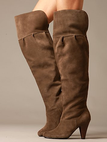 Vamp Over the Knee Boots