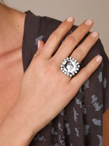 Crystal Circles Ring