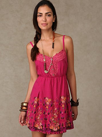 Cinch Garden Dress