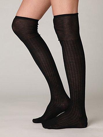 Romi Sheer Rib Tall Sock