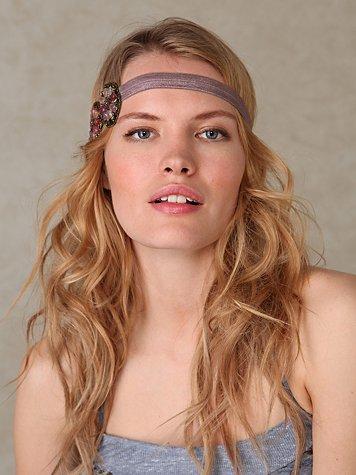 Beaded Beach Applique Headband