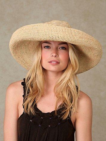 Giant Brim Straw Hat
