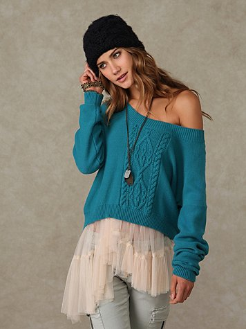 Cable Sweater Pullover
