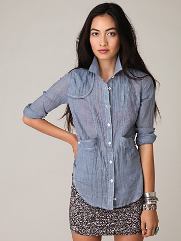Riders Chambray Buttondown