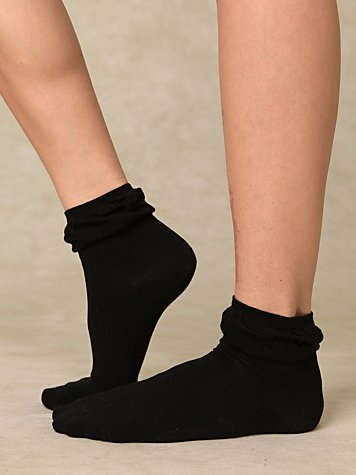 Ruffle Anklet
