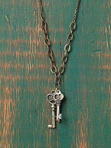 Coterie Of Keys Necklace