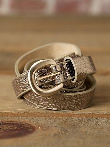 Glitteratti Leather Belt