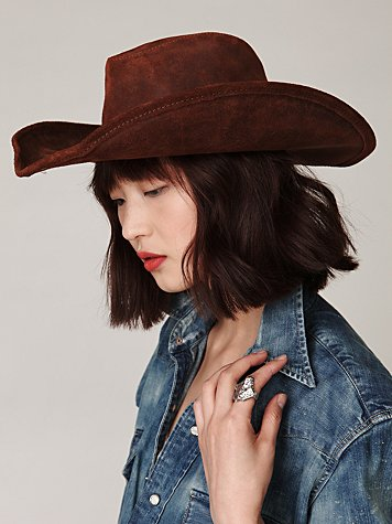 Silverton Leather Hat