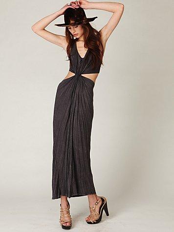 Twist At Center Dress