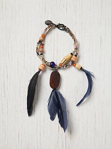 Erickson Beamon Feather Bracelet
