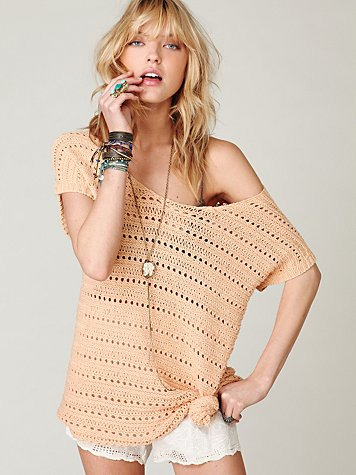 Dotted Lines Sweater Tunic