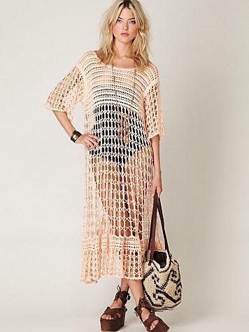 FP New Romantics Crochet Variety Dress
