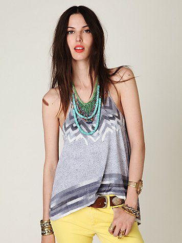 Love Triangle Cut Out Tank