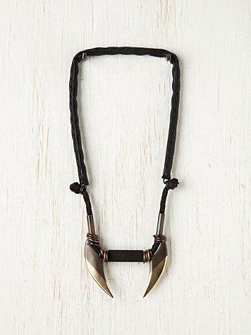 Linea Blades Necklace