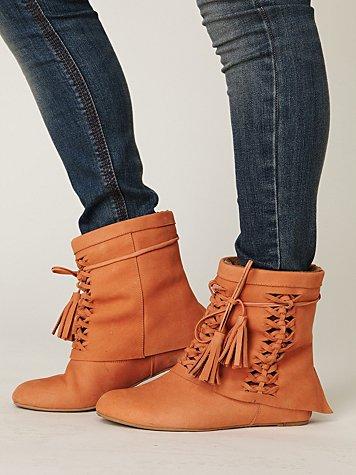 Tain Tassel Boot