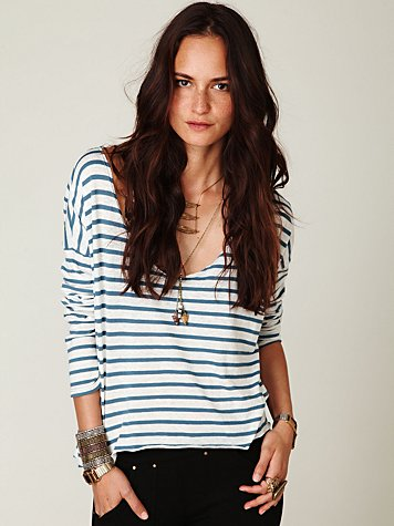 Easy Out Stripe Tee