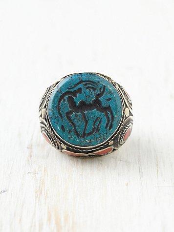 Saldana Chunk Ring