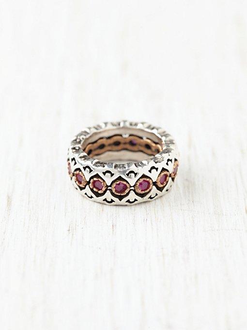 Triple Stack Burma Ring