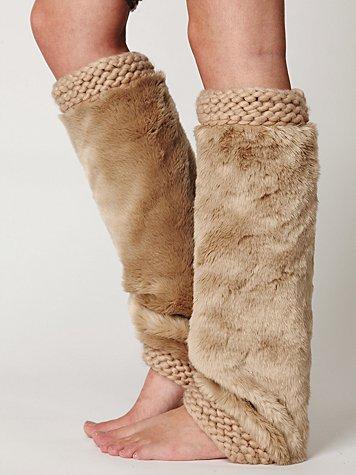 Fur Legwarmer