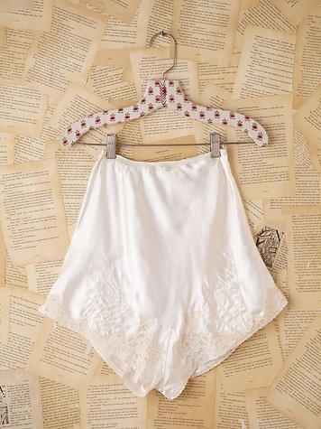 Vintage Silk Slip Shorts