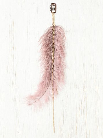 Feather Plume Clip