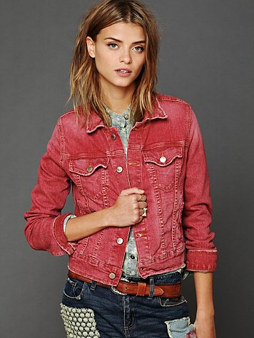 Along The Way Denim Jacket