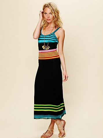 Color Block Stripe Knit