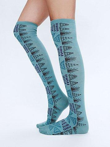 Aztec Tall Sock
