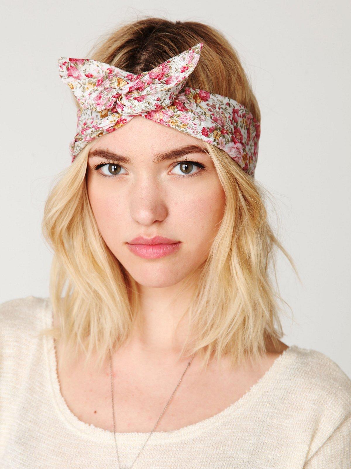 Как сшить повязку на голову в стиле пин ап выкройка