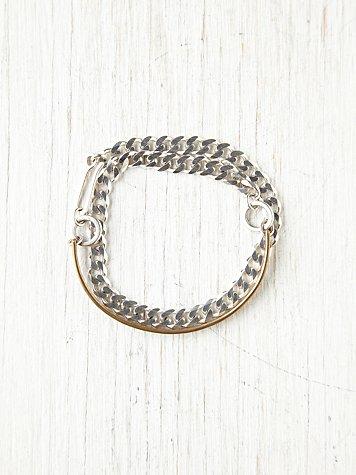 Aggie Chain Wrap Bracelet