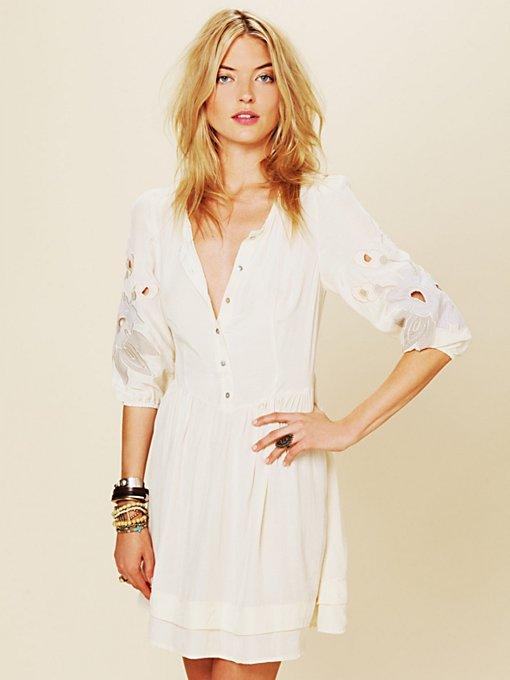 Retro Sleeve Dress