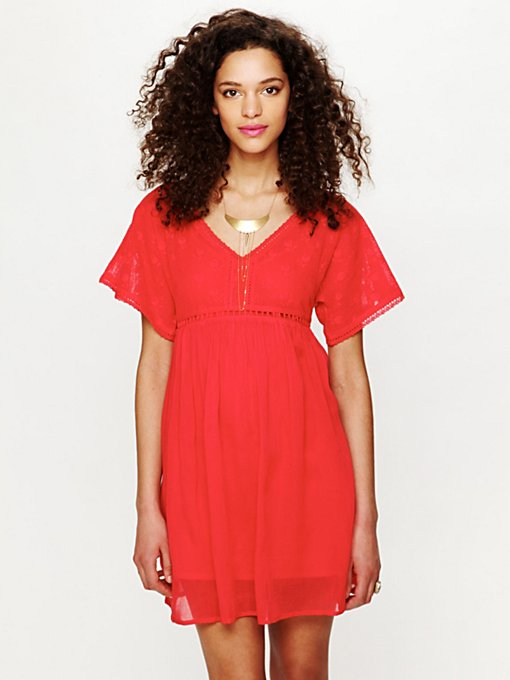 Ethnic Lace Dress