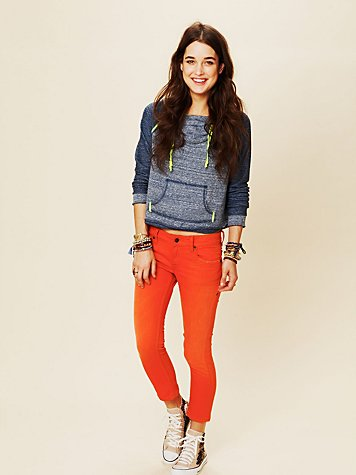 Bright and Bold Ankle Crop