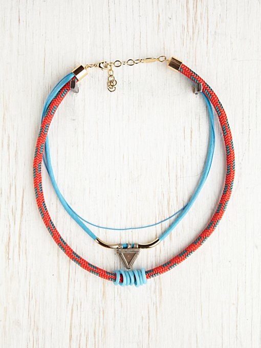 Tribal Rope Layering Necklace