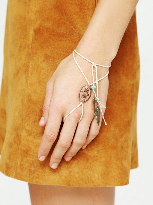 Concho Ring Wrap Bracelet