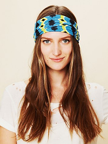 Aztec Wide Headband