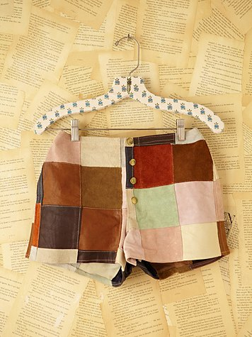 Vintage Patchwork Shorts