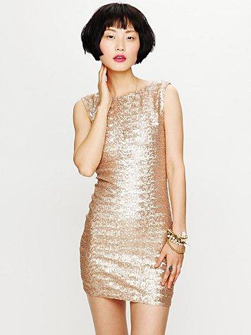 Lucinda Sequin Dress