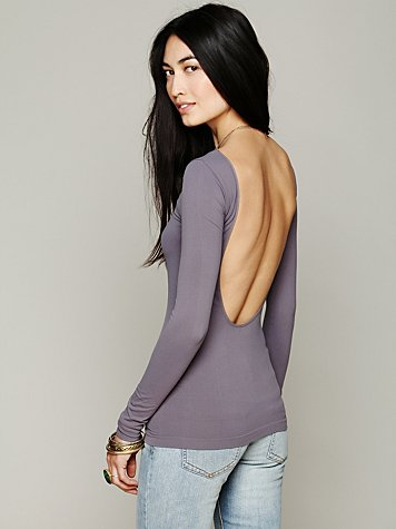 Solid Low Back Cami
