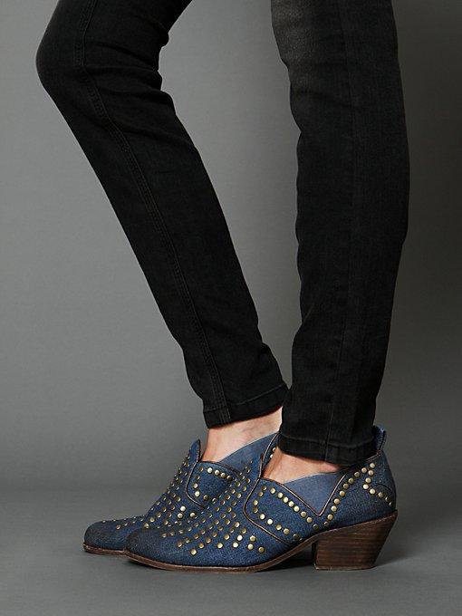 Cline Denim Ankle Boot
