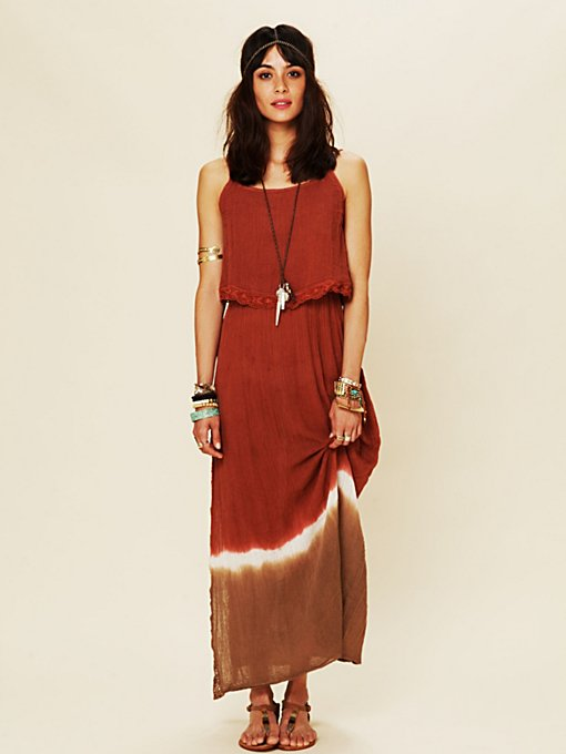Dream On Dip Dye Maxi Dress