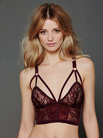 Cut Out Longline Bra