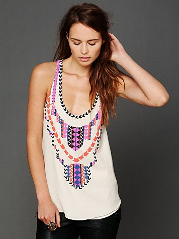 Mara Hoffman Beaded Tank