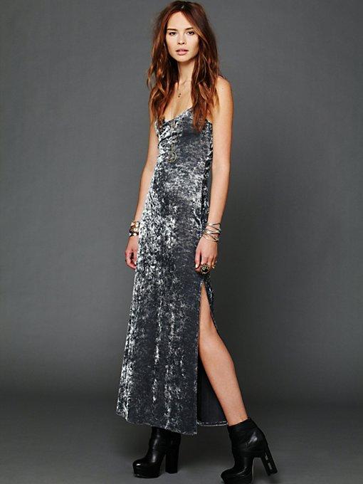Velvet Gown Slip