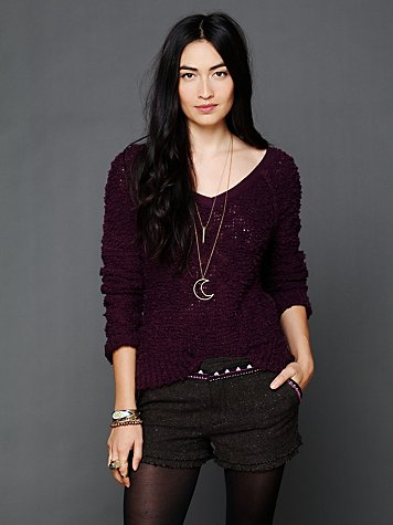 Shaggy Knit Pullover