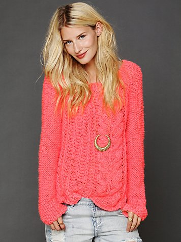 Chunky Cable Pullover