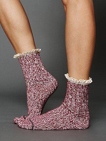 Heathered Highland Boot Sock