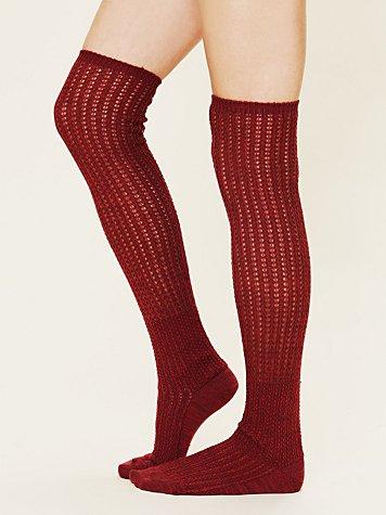 Slouchy Sweater Sock