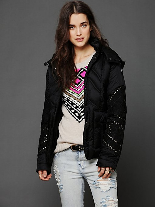 Embellished Puffer Jacket